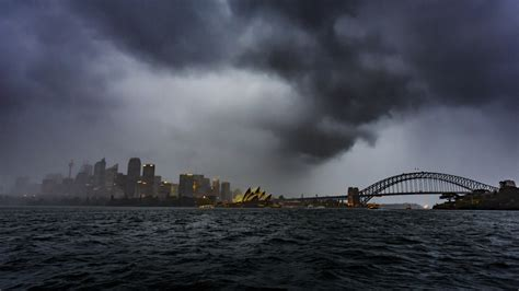 NSW storm chaos: travellers delayed by bad weather at