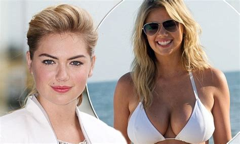 Kate Upton denies reports claiming she wants breast