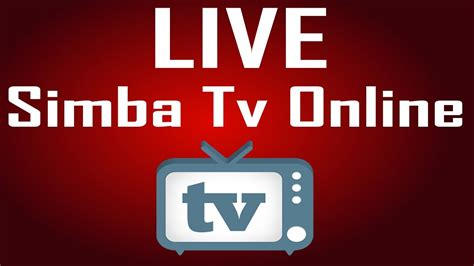 SIMBA SPORT CLUB TV ONLINELive Stream - YouTube