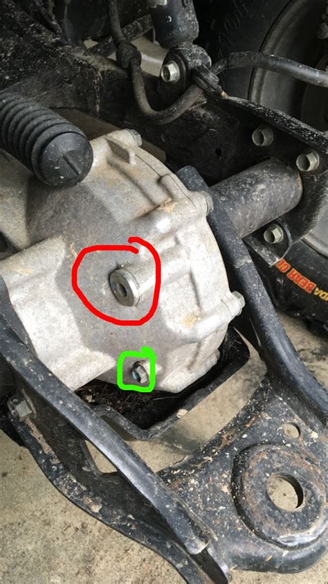 Alex's Blog: How to Do a Differential Oil Change on an ATV