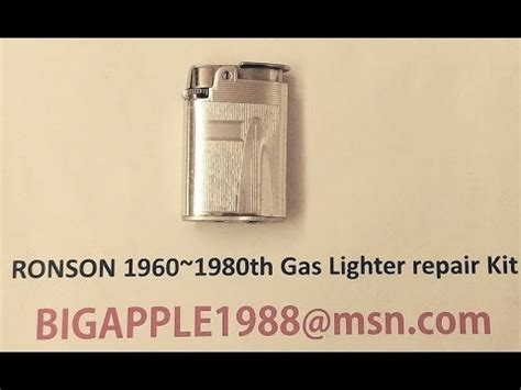 RONSON 1960~1980th Gas Lighter repair Kit**12(Not the