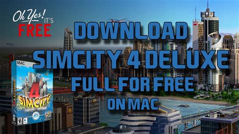 Download Simcity 4 Rush Hour Deluxe Full for Free [Mac