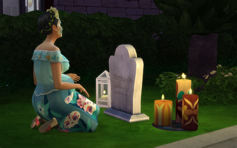 The Sims 4: Day Of The Dead Challenge Tutorial