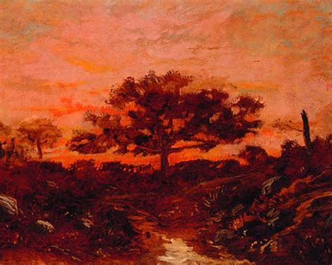 Study in the forest of Fontainebleau - Theodore Rousseau
