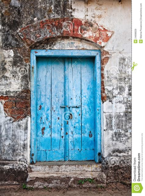 Vintage Blue Door Royalty Free Stock Images - Image: 24698029
