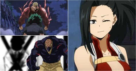 My Hero Academia: 5 Villains Momo Can Defeat (& 5 She Can't)