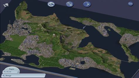 Simcity 4 region recreation in Cities: Skylines