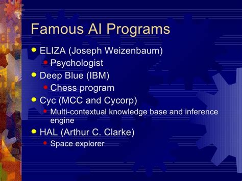 Artificial Intelligence AI Topics History and Overview