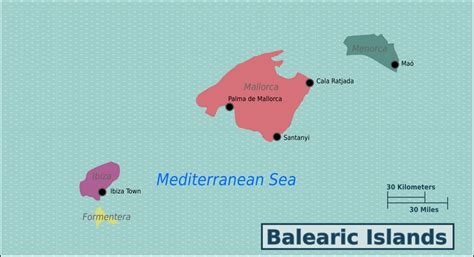 Balearic Islands – Travel guide at Wikivoyage