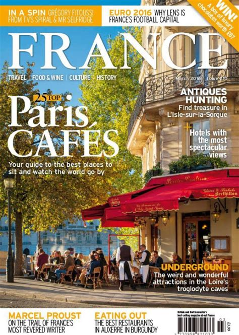 March 2016 issue of FRANCE Magazine out now! | Holiday