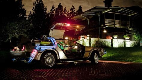 DeLorean, Back to the Future Wallpapers HD / Desktop and