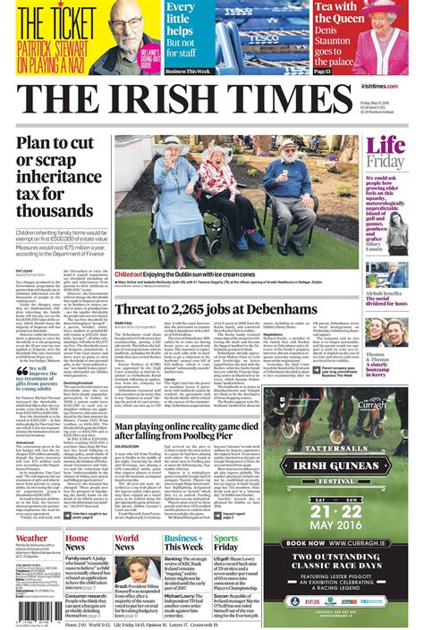 Friday's newspaper front pages | Buzz