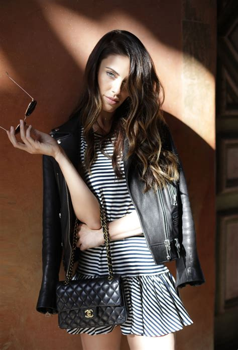 """Jessica Lowndes - """"Mad Prints"""" Photoshoot For Her Blog"""