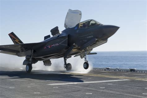 First F-35B Power Module, Engine Swap Take Place on USS