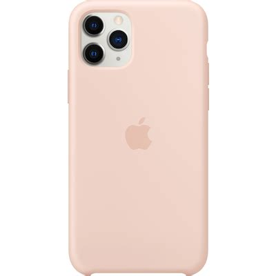 iPhone 11 Pro silikonecover (pink sand) - Cover & etui