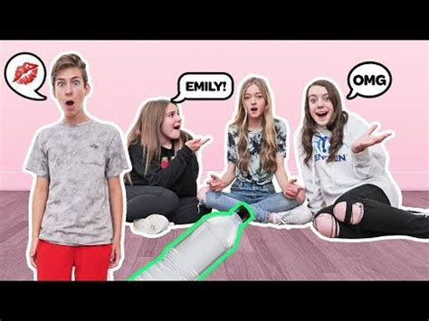 Spin The Bottle Of Dares CHALLENGE With My CRUSH **THEY