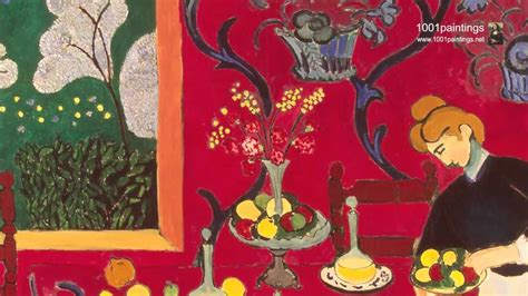 The dessert: Harmony in red (The red room) by the french