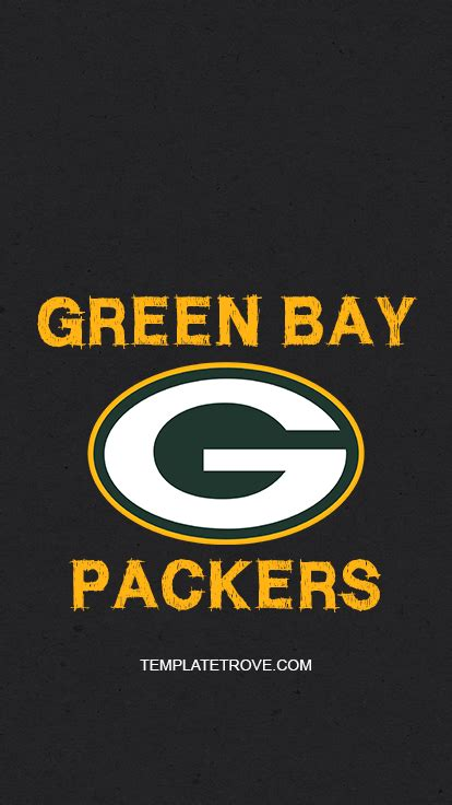 2018-2019 Green Bay Packers Lock Screen Schedule for