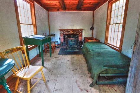 Henry David Thoreau's Tiny Cabin in the Woods