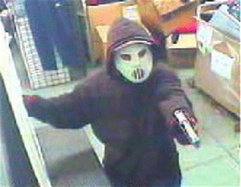 Masked Robbery Crew Makes Off with $6,000 Cash - Park