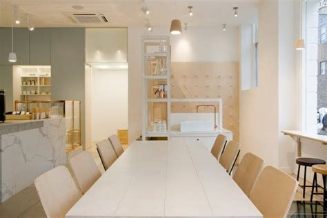 Catalyst Coffee London Interior Communal Table and