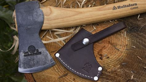 Hultafors Classic Hunting Axe or Hults Bruk Aneby Hatchet