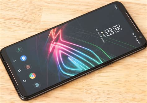 Asus' ROG Phone 2 features a 120Hz OLED display, a