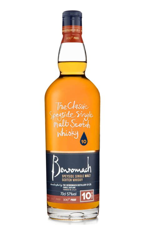 Benromach 10 Year Old 100 Proof 57%