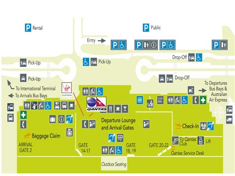 CNS: Cairns Airport Guide - Terminal map, airport guide