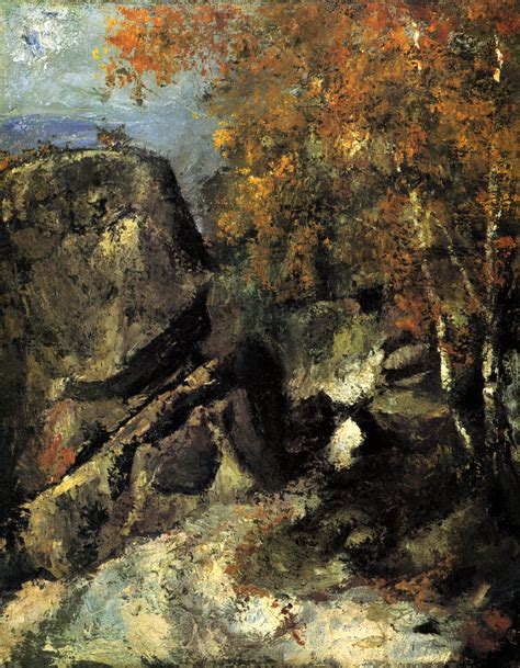 Rocks in the Forest by Paul Cézanne | Trivium Art History