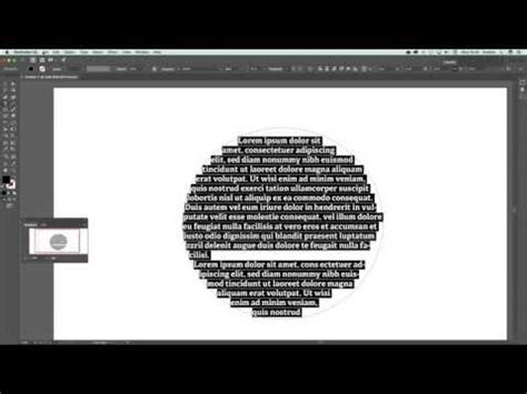 Illustrator CC 2017 Placeholder text and type tool lorem