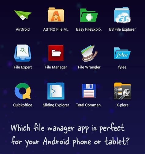 The Best File Manager Apps for Android Phones & Tablets