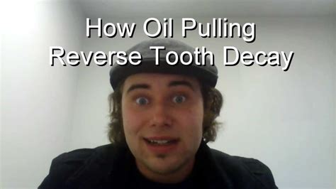 How Oil Pulling Can Reverse Tooth Decay and Gum Diesease