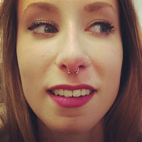 45+ Awesome Nasal Septum Piercing Pictures