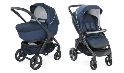 chicco Stroller Duo Style Go Up Crossover BLUE PASSION